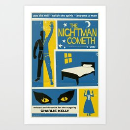 The Nightman Cometh Art Print
