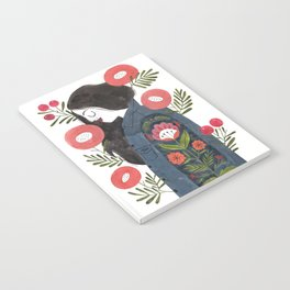 Hippie Girl Notebook