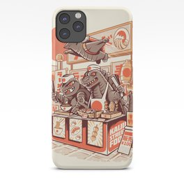 Kaiju street food iPhone Case