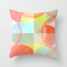 Marshmallows Throw Pillow