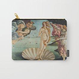 Sandro Botticelli - The birth of Venus (La nascita di Venere) Carry-All Pouch