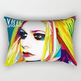 WPAP Avril Lavigne Rectangular Pillow