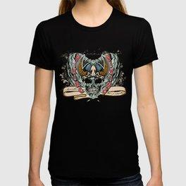 Viking Skull T Shirt T-shirt