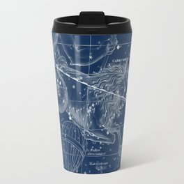 Capricorn sky star map Travel Mug