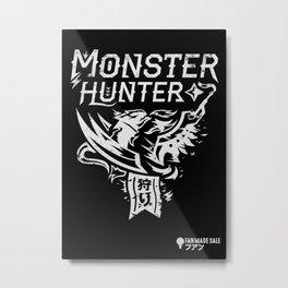 Monster Hunter Metal Print