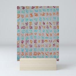 Messages Mini Art Print