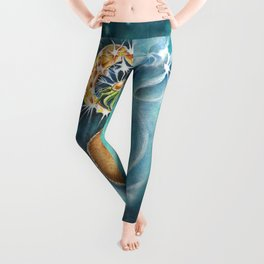 Step 1  Close your eyes - step 2 Make a Wish - step 3 Blow Leggings