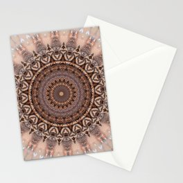 Mandala romantic pink Stationery Cards