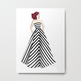 Bold stripes Metal Print