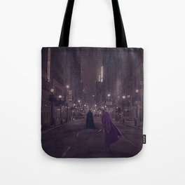 Gotham Nights Tote Bag