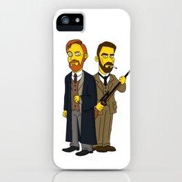 Moriarty & Moran iPhone Case