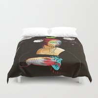 lady Duvet Covers featuring Lady by SNEP