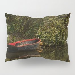 Dinghy On The Oxford Canal Pillow Sham