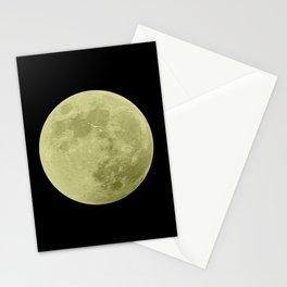 CANARY MOON // BLACK SKY Stationery Cards