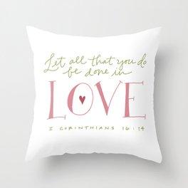 Corinthians Throw Pillow