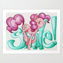 Smile Smile Smile Art Print