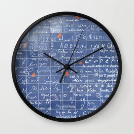 I love you. Wall Clock