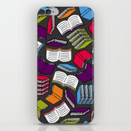 So Many Colorful Books... iPhone Skin