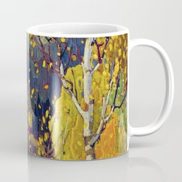 Franklin Carmichael Canadian artist Art Nouveau Post-Impressionism October Gold Coffee Mug