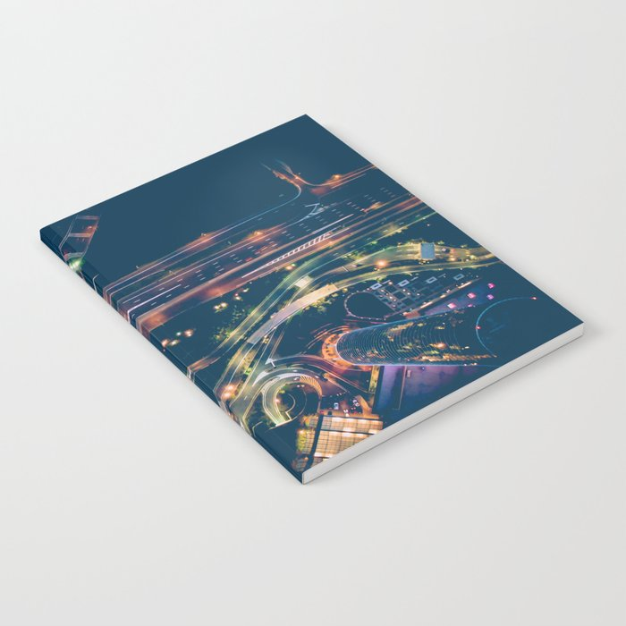 City in the sky fantastic Notebook