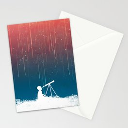 Meteor Rain (light version) Stationery Cards