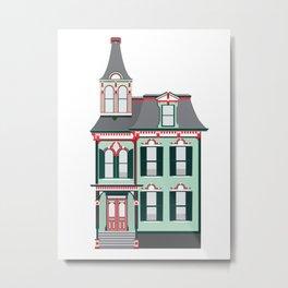 Victorian House Metal Print