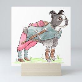 DogDays19 Vinny Mini Art Print