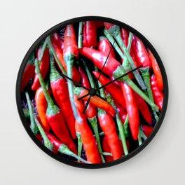Peperoncino Wall Clock