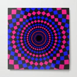 circular pattern Metal Print