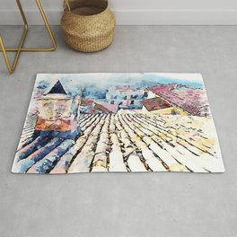 Roof and chimney Rug