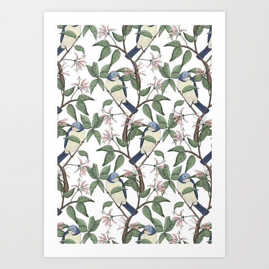 Bird Spotting Art Print