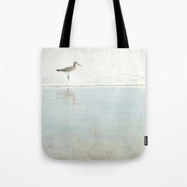 Reflecting Sandpiper Tote Bag
