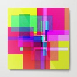 Squares combined no. 7 Metal Print