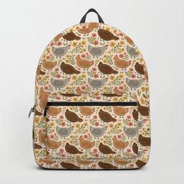 Springtime Chickens Backpack