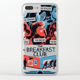 The Breakfast Club Poster Clear iPhone Case