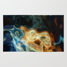 Smoke background Rug