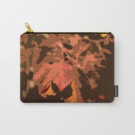 Abstract Fall Leaves Carry-All Pouch
