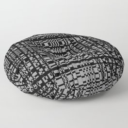 block chain Floor Pillow