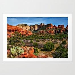 Arizona Landscape Art Print