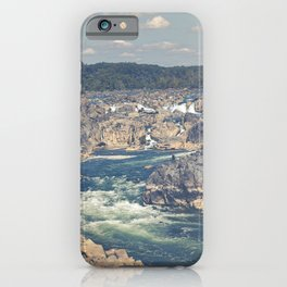 Great Falls Potomac River iPhone Case