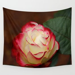 Cherry Parfait Rose Wall Tapestry