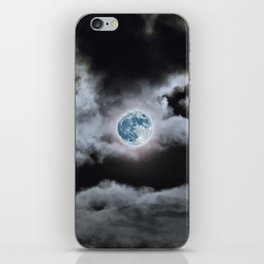 Blue Moon I Wonder iPhone Skin