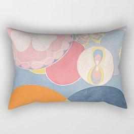 The Ten Biggest No 2 By Hilma Af Klint Rectangular Pillow