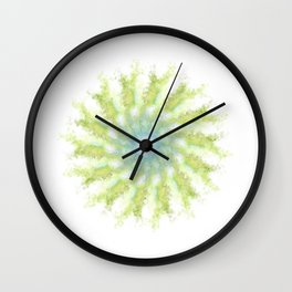 Birds, leaves and sky Wall Clock