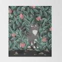 Butterfly Garden (Tabby Cat Version) by littleclyde