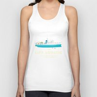 the life aquatic Tank Tops featuring The Life Aquatic with Steve Zissou by steeeeee