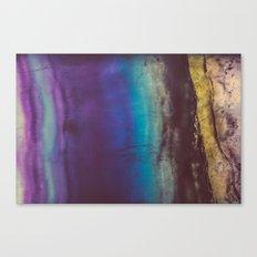 Bohemian Blue Earth Canvas Print