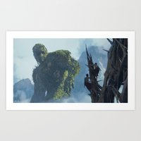 Forest Giant Art Print