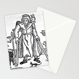 The Devil in Britain and America Stationery Cards