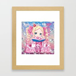 Chibi Beatrice Framed Art Print